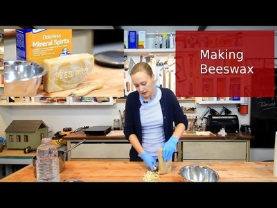 DIY Making Beeswax Polish for Furniture