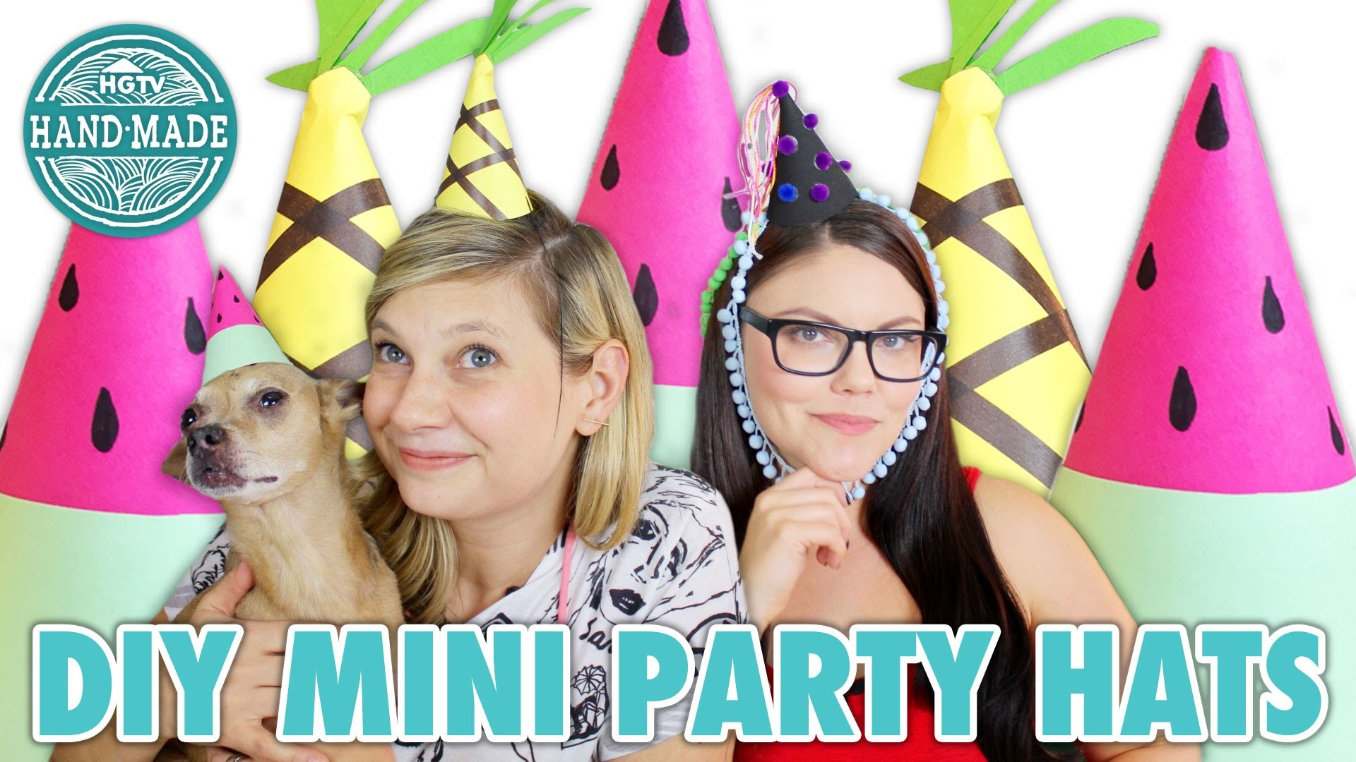 DIY Mini Party Hats with Threadbanger's Corinne Leigh - HGTV Handmade
