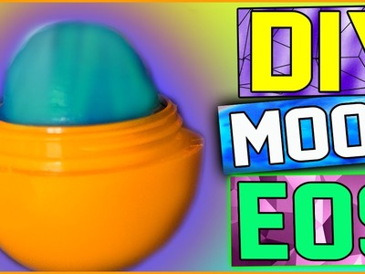 DIY Mood Changing EOS Lip Balm! Color Changing Lip Balm! | Wear Your Mood On Your Lips!