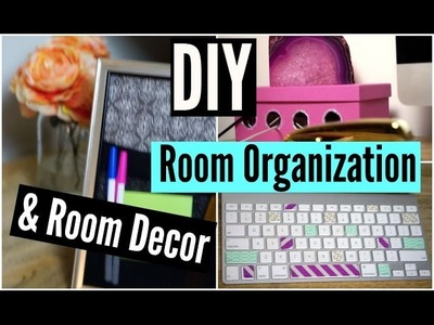 DIY Room Organization and Room Decor! Easy and Affordable!