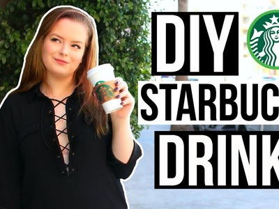 DIY Starbucks Drinks for Fall