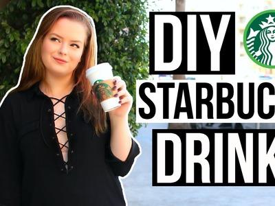 DIY Starbucks Drinks for Fall