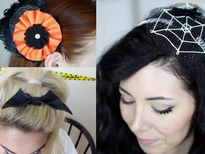 Easy DIY Halloween Hair Accessories