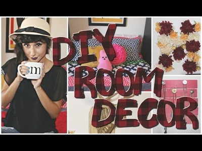 Easy ways to spice up your room! + DIY Fall Room Decor