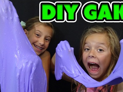→HOW TO MAKE GAK← | DIY | WE ANSWER THAT EPISODE 41 | SMELLYBELLY TV