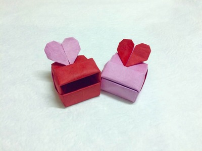 How to make Origami Love box (Heart box) - Paper Ph2