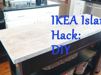 Ikea Island Top Hack - DIY