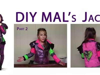 Mal Descendants Disney - DIY Mal's Jacket - Part 2