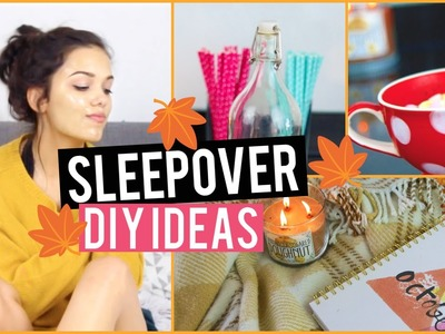 Sleepover: DIY Decor, Treats & Essentials! | Vania Fernandes