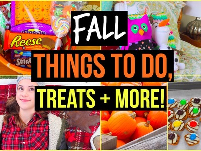 What to do When You're Bored in Fall! DIY Treats, Outfit, Things to do & more!