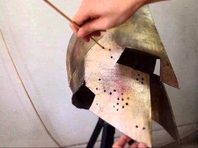 #48: 300 King Leonidas Helmet DIY part 4: Paint & Weathering Effects