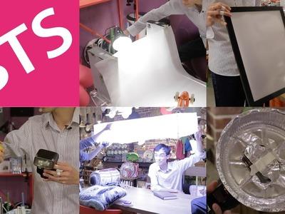 5 DIY Lighting Setups - Behind the Scenes!