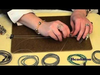Beadalon Wire Wrapped Bracelet