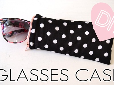 ♥ DIY Glasses Case with zipper | quick & easy | how to | tutorial