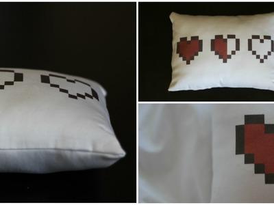 «DIY Legend of Zelda Heart Pillow» | pacifically