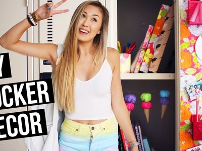 DIY Locker Decorations for Back to School 2015! | LaurDIY