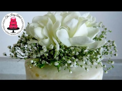 DIY Real Flower Cake Topper For Under $10 - How To With The Icing Artist