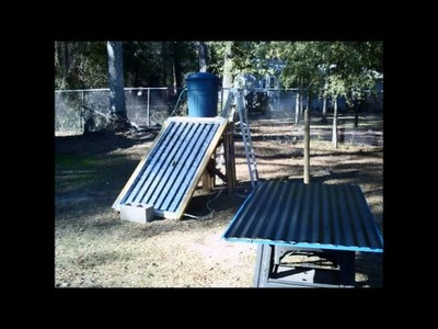 DIY Solar Thermal Panel Built for $100 to $150 (Full Video)