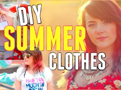 DIY: Summer Clothing + Accessories!