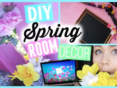 DIY TUMBLR INSPIRED SPRING ROOM DECOR ☀️ 2015 | NICOLE JULIANA