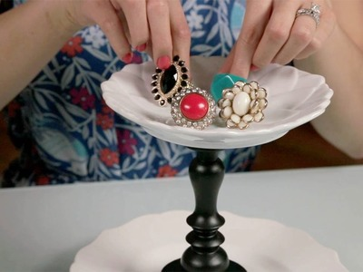 Easy DIY Jewelry Stand | Glam It Yourself