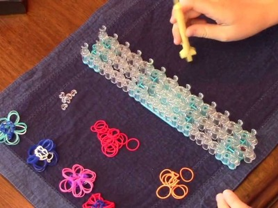 Fluffy Flower Ring Tutorial For Rainbow Loom