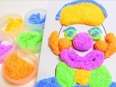 Foam Clay - Pearl Putty Playdough Floam like - DIY Toys
