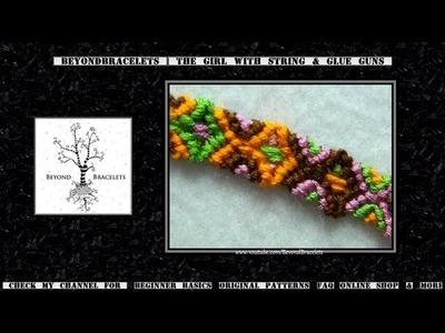 ► Friendship Bracelet Tutorial - Beginner -Totem Pole
