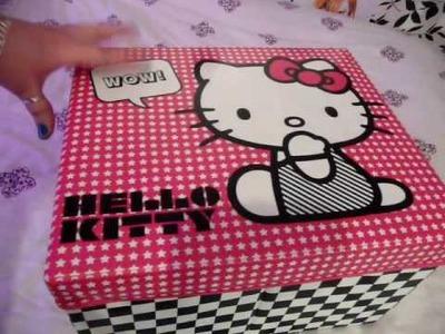 HelloKittyGoodies - Hello Kitty Pop Up Room Tidy & Storage Box