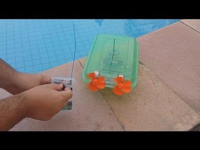 Homemade AirBoat - DIY - Eduardo Zola