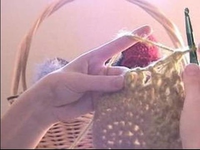 How to Crochet Beanies : How to Return to One Stitch Per Hole: Crocheting Beanies