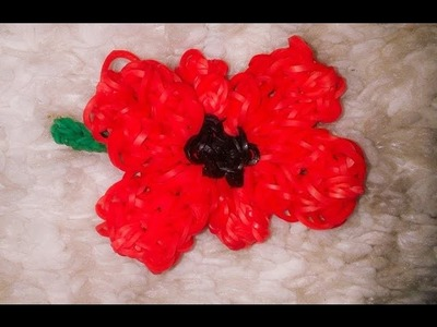 How to loom a poppy- With Loomy Lauren