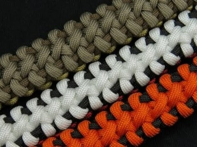 How to make a Boneyard Bar Paracord Bracelet Tutorial (Paracord 101)