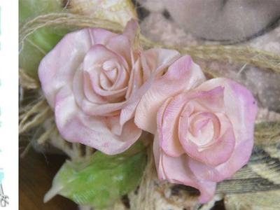 How to make roses with Friendly Plastic