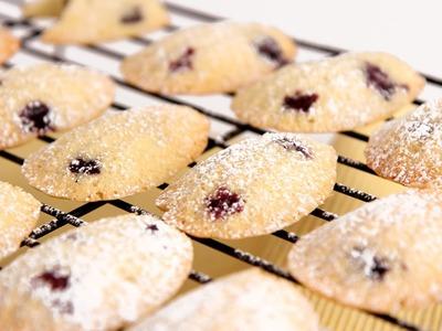 Lemon Blueberry Madeleine Recipe - Laura Vitale - Laura in the Kitchen Episode 797