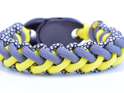 "Make the ""Jagged Zipper"" Paracord Survival Bracelet DIY - BoredParacord!"