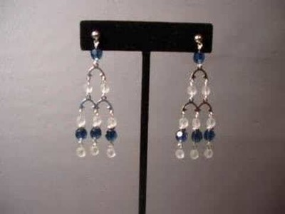 Making Chandelier Style Earrings