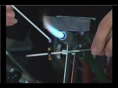 Making Striped Glass Beads : Adding 2nd Layer of Striped Glass Bead Dots
