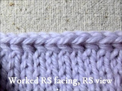 Mrs  Micawber's Accidental Bind Off Tutorial