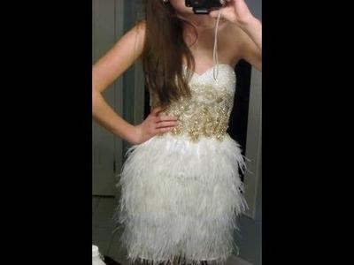 My (Short) Prom Dress