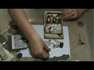 Pretty Potions & Poisons Apothecary Event Tutorial #3 - Books, Coffins & Cauldrons