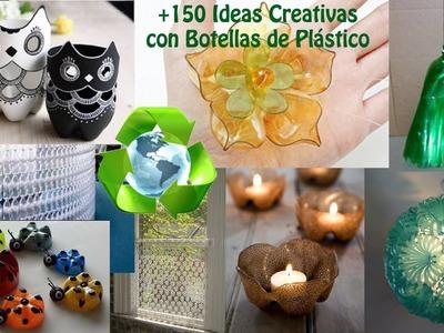 Reciclado Botellas de Plástico +150 Ideas. Ideas Recycling Plastic Bottles