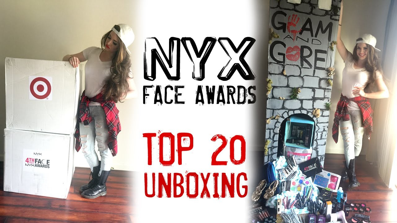 Top 20 Unboxing- NYX Face Awards 2015