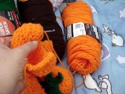 Video response to Crochet Small pumpkin
