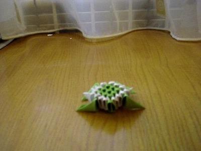 3D Origami Mini Turtle Tutorial