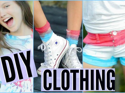 4th of July DIY Clothing! + BLOOPERS. Chloe East