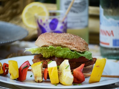 4th of July Fabulous and Healthy Grill Recipes Tutorial with Mr. Kate