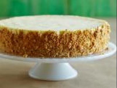 Alton Brown's Sour Cream Cheesecake