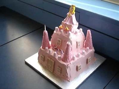 Amateur betty crocker princess castle cake