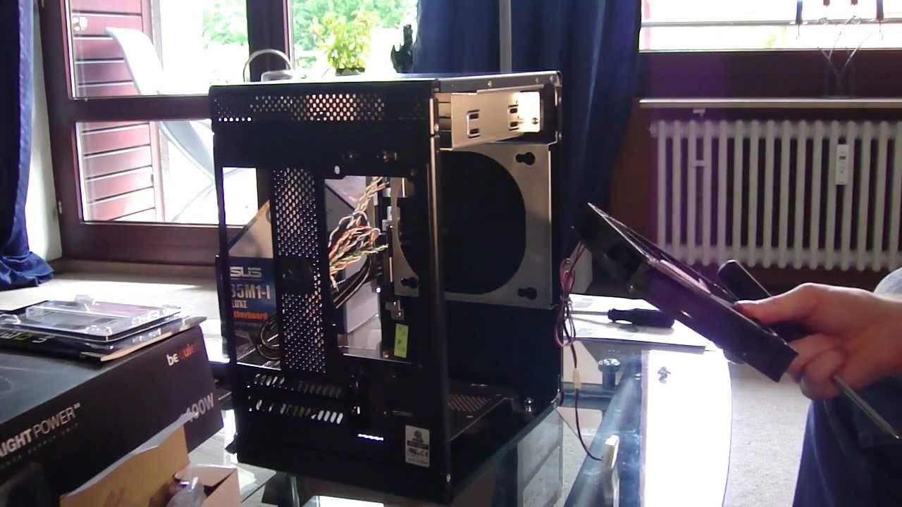 AMD E-350. GF GT 430 24.7 CUDA pc build - assembling